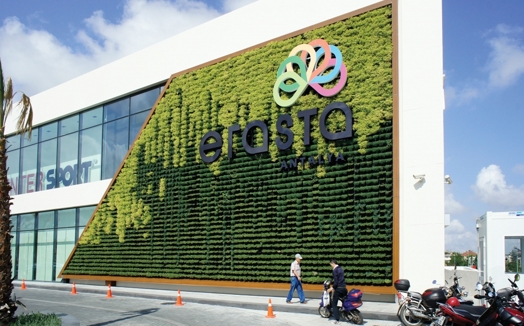 Shopping Mall In Turkey Gets A Green Wall Atlantis