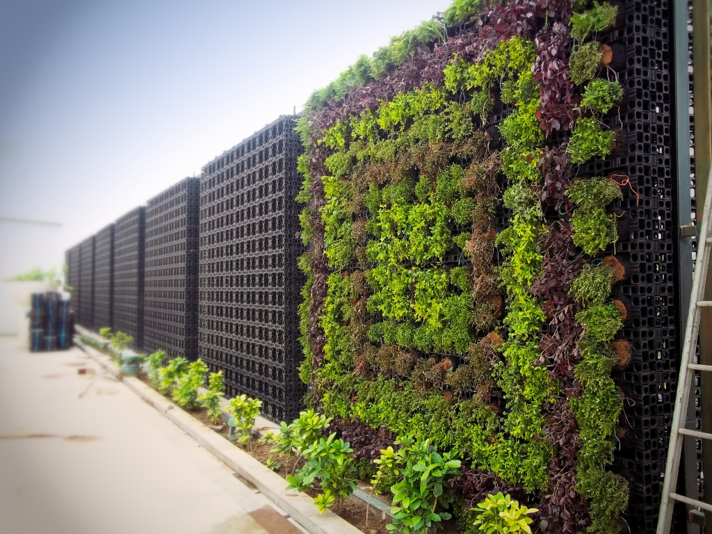 Garden Wall Facade : Gro wall pro atlantis corporation