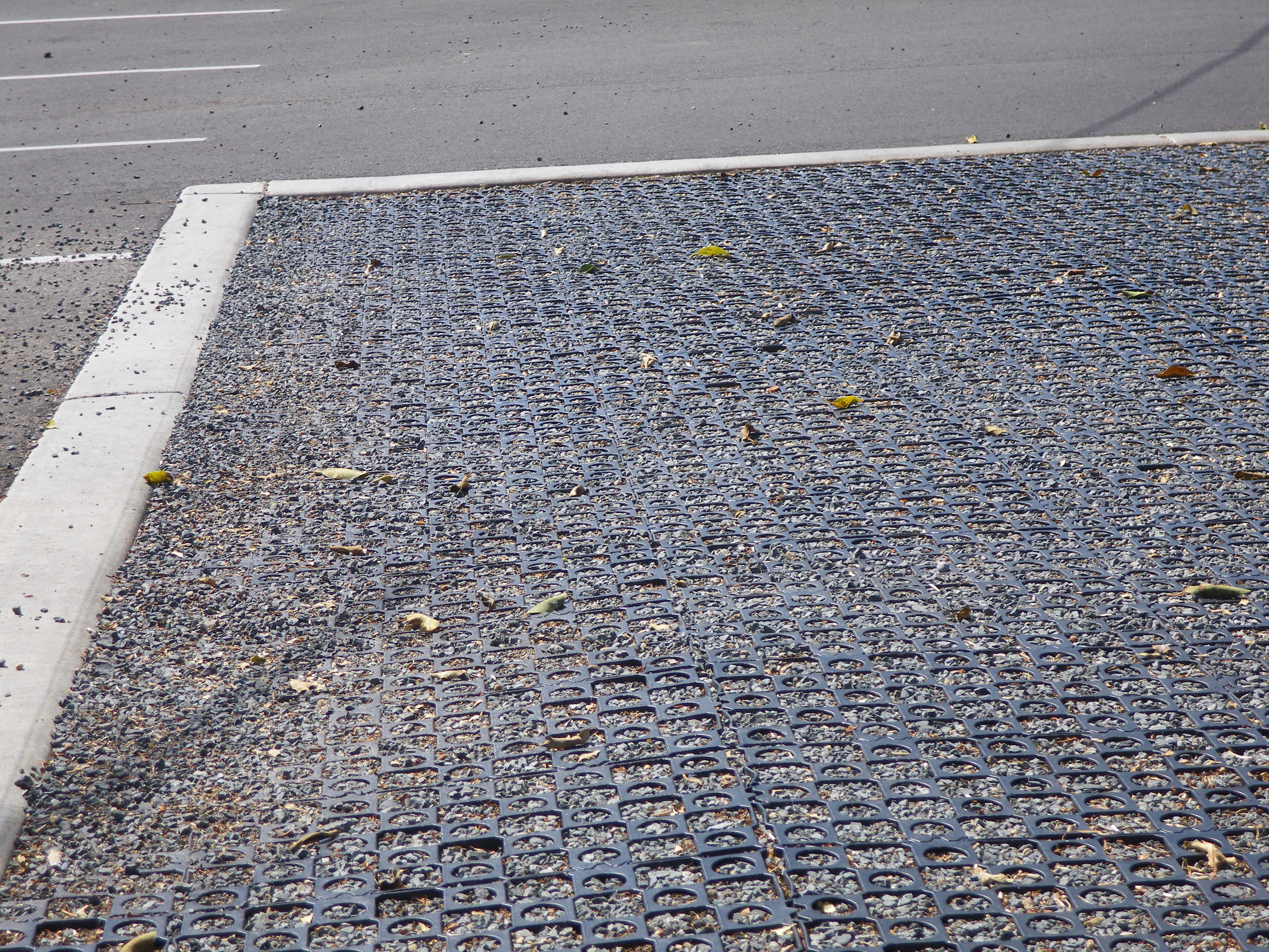 Atlantis Drainage Cell : Silkstone state school parking bays atlantis