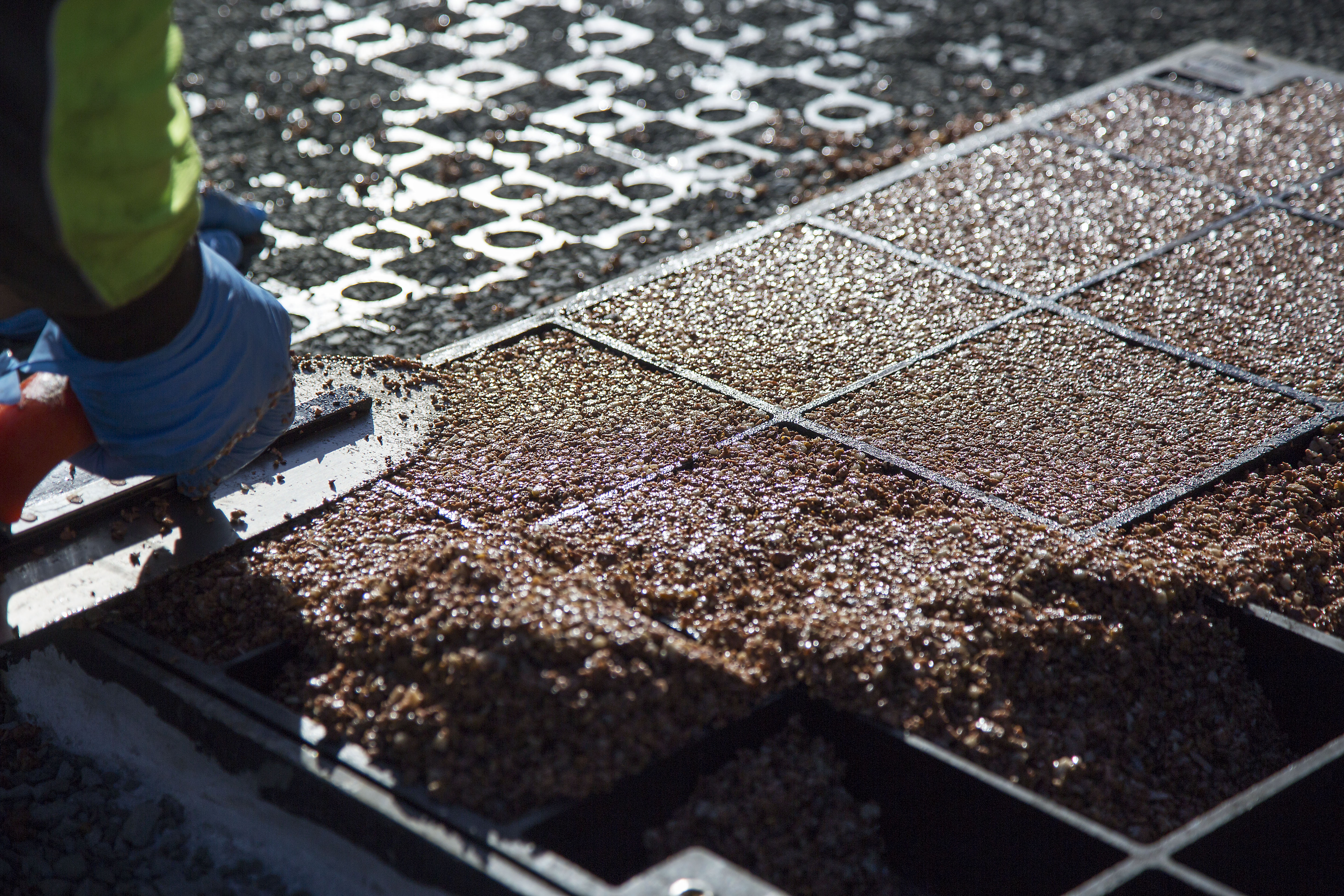 Drainage Gravel Cell : New permeable pathways for observatory atlantis