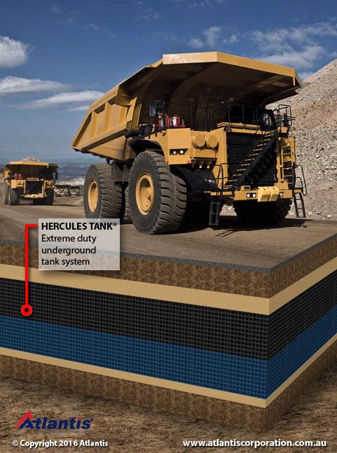 Hercules Mining Truck