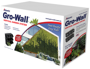 Atlantis Gro-Wall® 4 Box Veritical garden system & Green Wall System